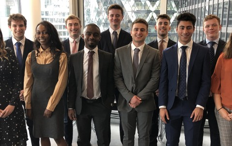 Hiscox summer interns 2019