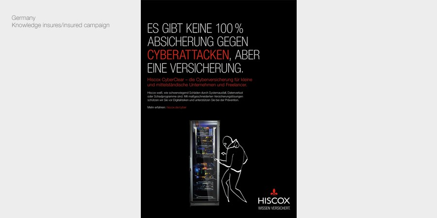 Hiscox Germany campaign