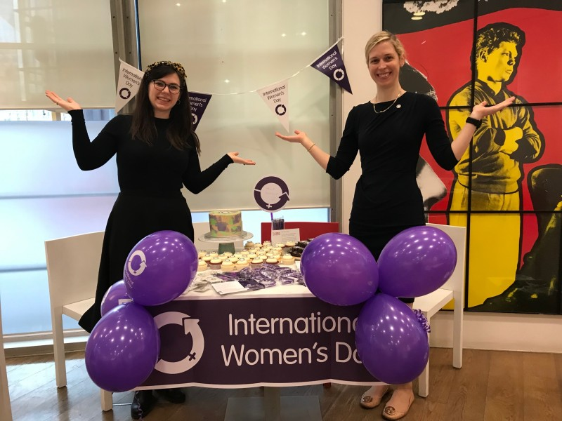 Women at Hiscox network International Women's Day