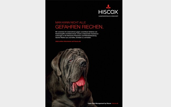 Hiscox Germany advert