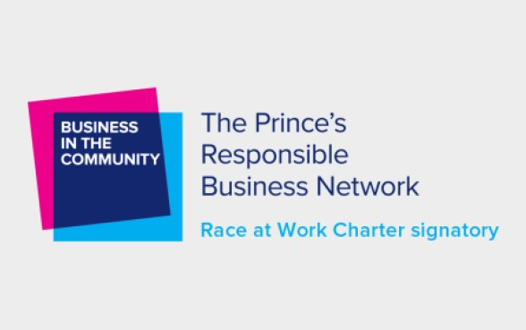 Race at Work Charter signatory logo